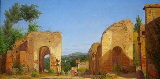 Gateway In The Via Sepulcralis In Pompeii. Christen Kobke, 1846