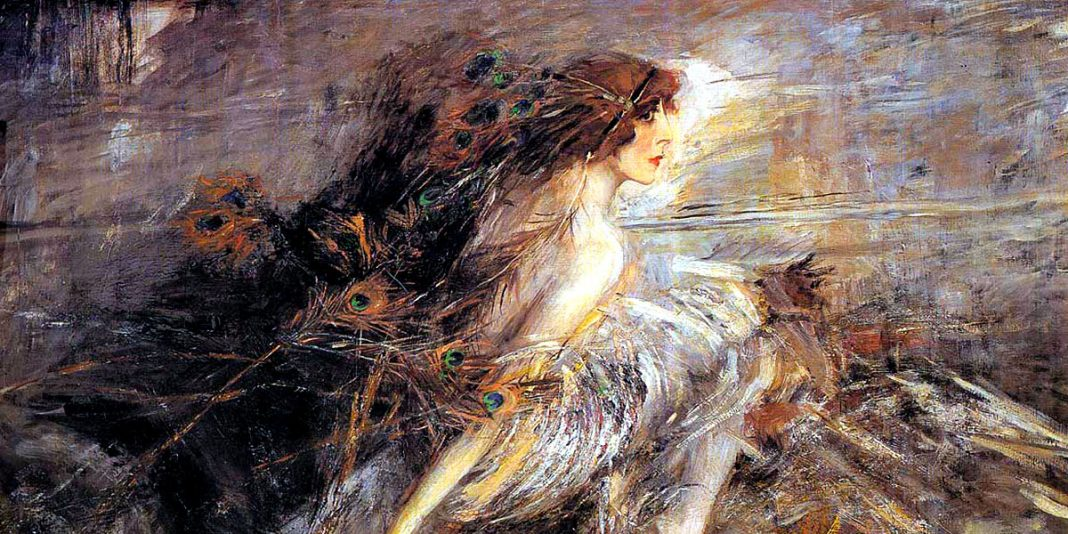 Portrait Of The Marquise (1914). Giovanni Boldini