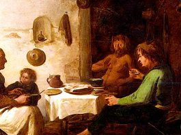 Benjamin Gerritsz. Cuyp – The Satyr and the Peasant Family