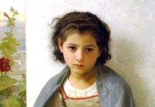 The Little Knitter. William-Adolphe Bouguereau (1825–1905)
