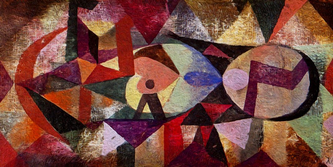 Ab ovo (1917) by Paul Klee (1879-1940)