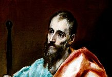 Apostle St. Paul. El Greco
