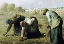 The Gleaners. Jean-Francois Millet