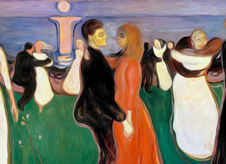 Dance Of Life. Edvard Munch