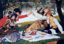 La Partie carrée. James Tissot