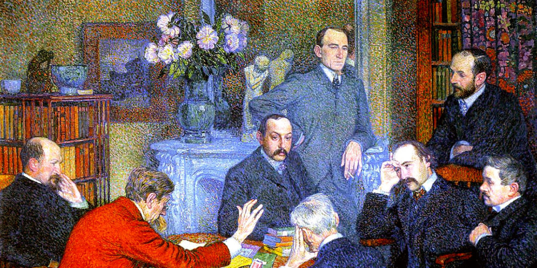 The Reading (1903). Theo van Rysselberghe